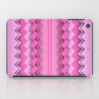 Zigzag paper dream iPad Case