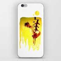 my son is a guitar god iPhone & iPod Skin