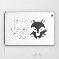 Twins Fox Laptop & iPad Skin