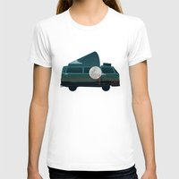 vw T-shirts featuring VW Camper by WyattDesign