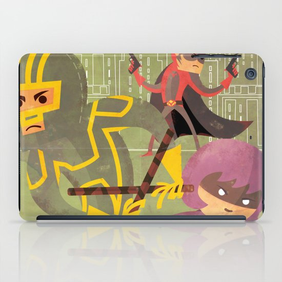 kick ass fan art 2 iPad Case