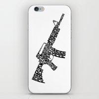 Pew Pew AR-15 iPhone & iPod Skin