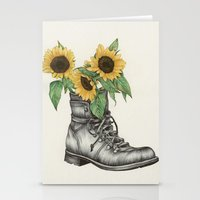 Shoe Bouquet I Stationery Cards