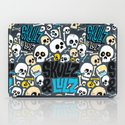 Skullz & Lulz Pattern iPad Case