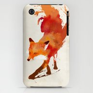 Vulpes Vulpes iPhone (3g, 3gs) Slim Case