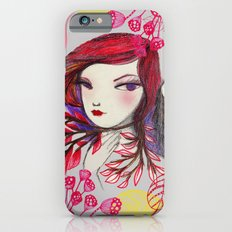 Red Owl Gal iPhone 6s Slim Case