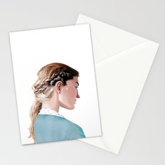 Blond Girl Stationery Cards