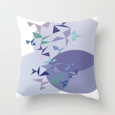 shapes on shapes Throw Pillow