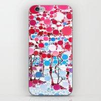 :: Flamingo Hookah :: iPhone & iPod Skin