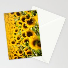 Through Fields of Light - Sunflowers Stationery Cards