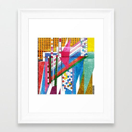 graphic bordello Framed Art Print