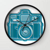I Still Shoot Film Camera Logo Wall Clock