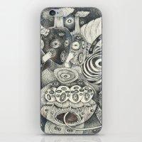 Umbilical Chords iPhone & iPod Skin