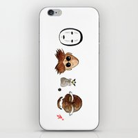 Make the Unlikeliest of Friends, Wherever You Go 2 iPhone & iPod Skin