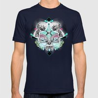 Undefined creature Mens Fitted Tee Navy SMALL