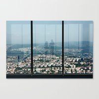 love country in İstanbul Canvas Print