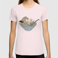 THE GREAT SLURP Womens Fitted Tee Light Pink SMALL