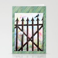 Dream And Reality Stationery Cards