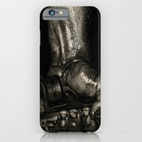 iPhone & iPod Case featuring The Mechanic by Cathie Tranent