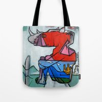 Contemplating Collective Consciousness by Amos Duggan 2013 Tote Bag