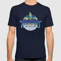 Xanadu Mens Fitted Tee Navy SMALL