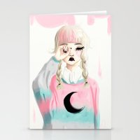 Brink of disaster Stationery Cards
