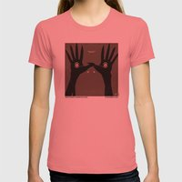 No061 My Pans Labyrinth … Womens Fitted Tee Pomegranate SMALL
