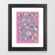 Fangewla Framed Art Print
