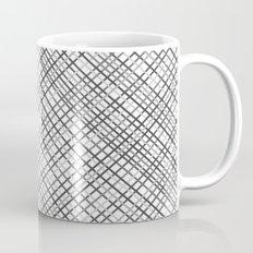 Weave 45 Black and White Mug
