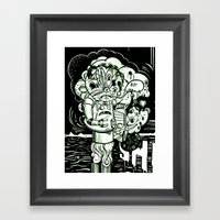 Swears Framed Art Print
