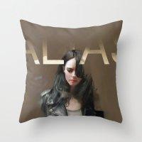 Occasionally, I Give A Damn Throw Pillow