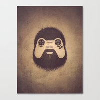 The Gamer Canvas Print