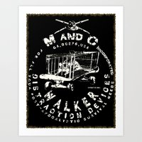 M and C incorporated Art Print