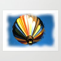 Up , Up And A Away In My… Art Print