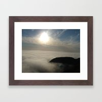 Above It All Framed Art Print