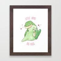 T-Rex - Little Arms Big … Framed Art Print