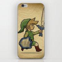 Link, The Wind Waker iPhone & iPod Skin