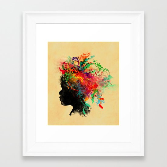 Wildchild Framed Art Print