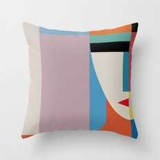 Absolute Face Throw Pillow