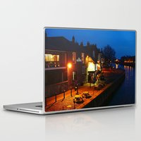 Laptop & iPad Skin featuring By the Riverside by Serenity Photography