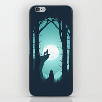 Full Moon iPhone & iPod Skin