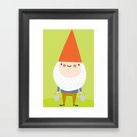 Mr. Gnomey Pants Framed Art Print