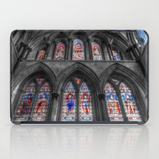 Rochester Cathedral Stained Glass Windows iPad Case