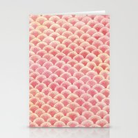 Coral Scales Stationery Cards