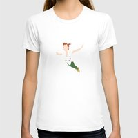 peter pan T-shirts featuring PETER PAN by kattie flynn