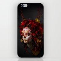 Crimson Havest Muertita iPhone & iPod Skin