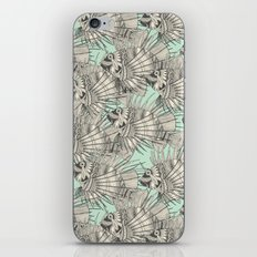 fish mirage mint iPhone & iPod Skin