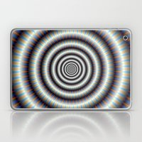 Hypnotic Rings Laptop & iPad Skin