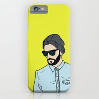 iPhone & iPod Case featuring Grey Beanie by Fatimah khayyat