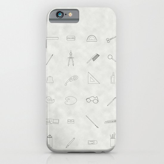 Drawing tools iPhone & iPod Case